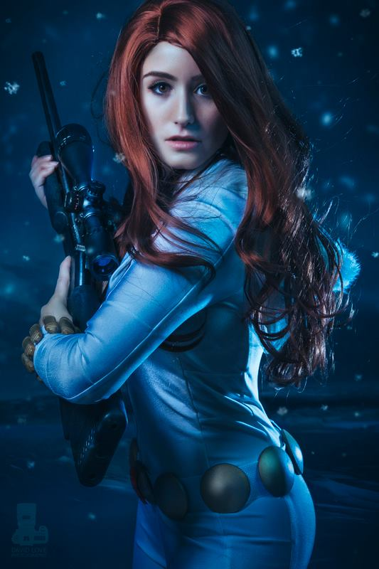 [Cosplay] Jessica LG as Black Widow (White Widow variant)