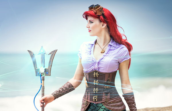The Artful Dodger's steampunk Ariel