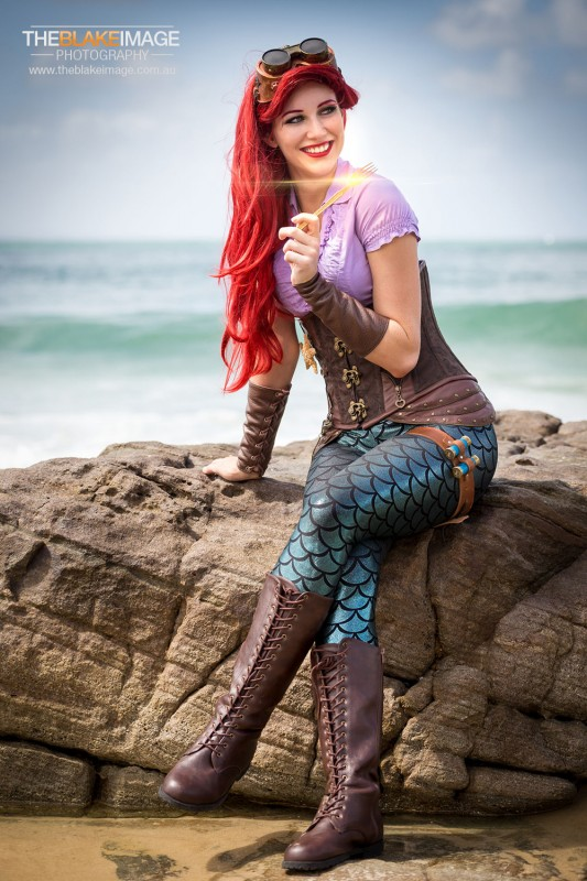 the Artful Dodger - steampunk Ariel cosplay