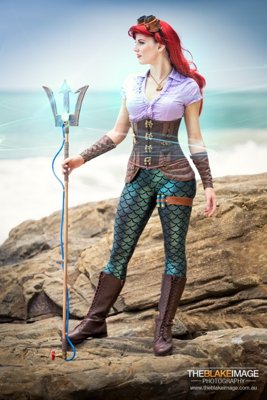 the Artful Dodger - steampunk Ariel cosplay-