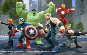 'Disney Infinity: Marvel Super Heroes' combines video gaming with physical toy play