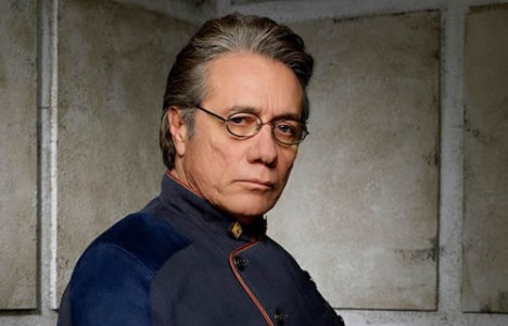 Edward James Olmos discusses Adama's leadership style