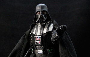 You won't underestimate the power of Hasbro's Star Wars Black Series Darth Vader