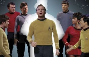 Captain Kirk's Log: comics are my blissful escape