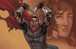 Kel Symons' new sword and sorcery comic is right as 'Reyn'