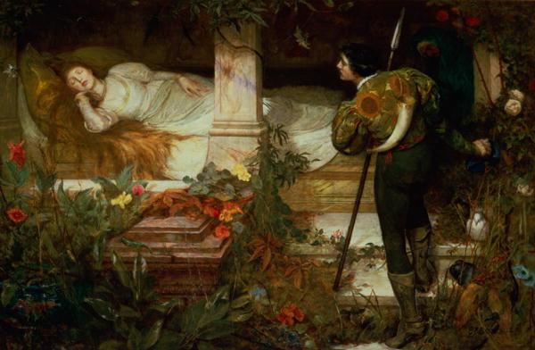 Erotic tales of sleeping beauty