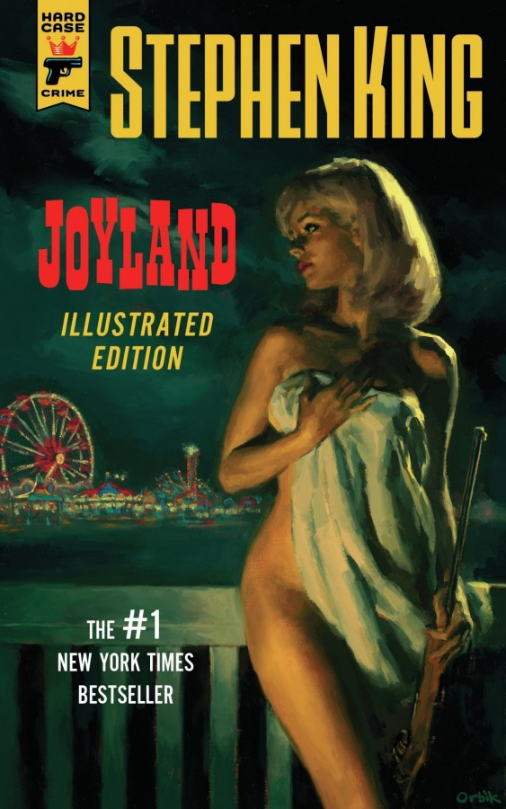 Illustrated Book Cover Version : Joyland illustrated edition is an attractive but