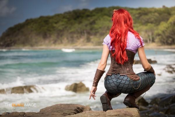 the Artful Dodger - steampunk Ariel cosplay
