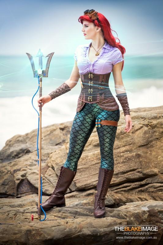 the Artful Dodger - steampunk Ariel cosplay-