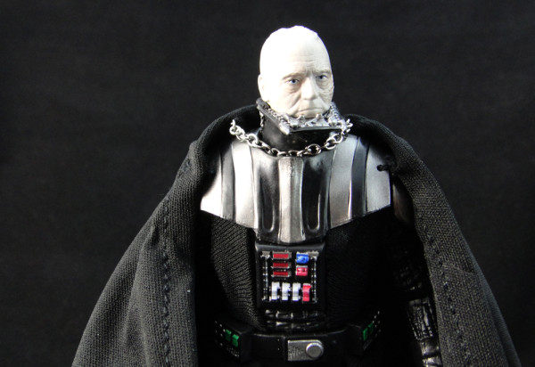 Black series darth vader 6 pop mythology for Darth vader black and white