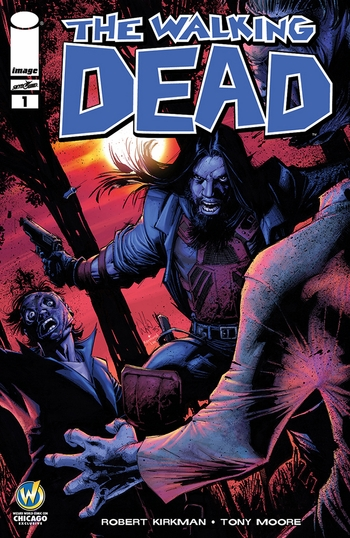 7b23fcd7b Wizard World Chicago 2015 attendees will receive 'The Walking Dead #1'  variant cover by Whilce Portacio