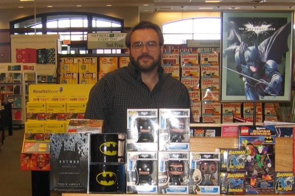 Author/editor Travis Langley (via TravisLangley.info)
