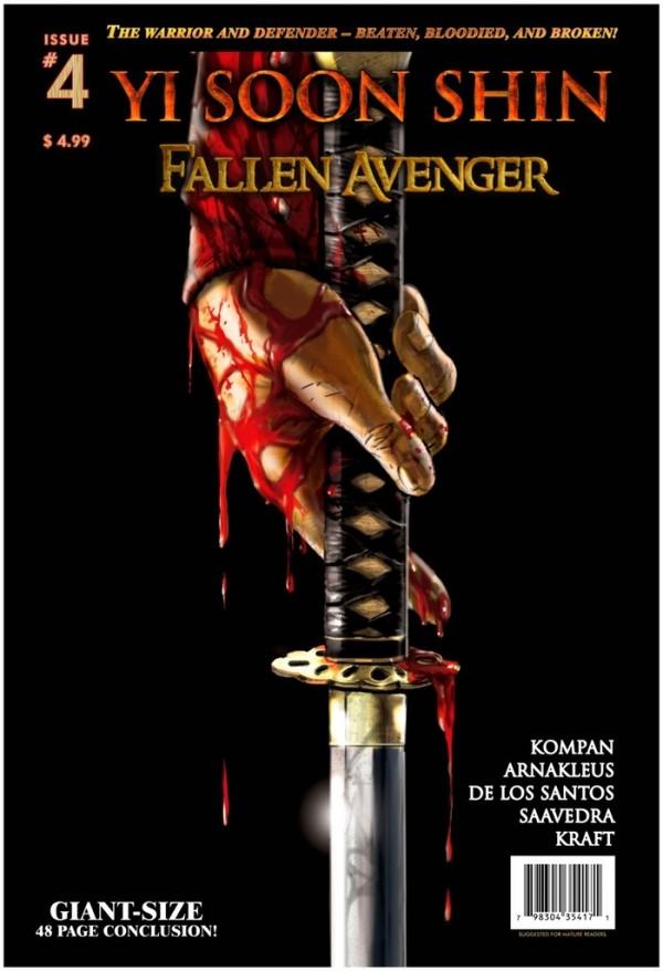 yi soon shin fallen avenger #4